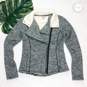 Bench Fleece Lined Heathered Moto Style Jacket